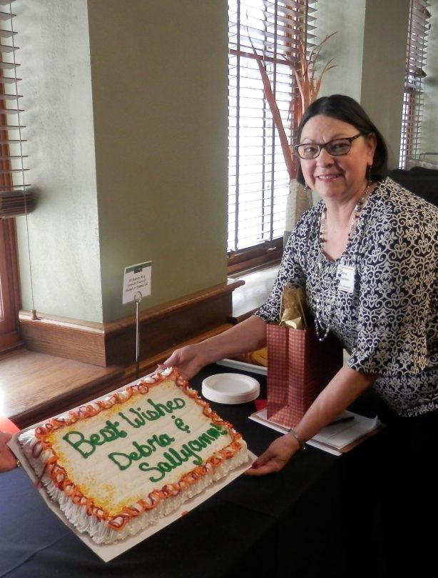 Debra Retirement Cake