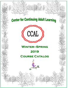 2019 Winter Spring catalog COVER